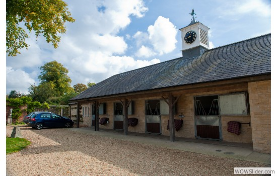 The new stables