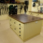 The tack room